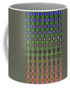 Fir Tree Forest Abstract #7215wt Coffee Mug