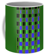 Fir Tree Fork Abstract #7075 Coffee Mug