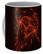 Fire Abstraction Coffee Mug