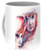 Fire And Ice Coffee Mug