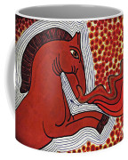 Fire Breathing Horse Coffee Mug