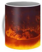 Fire Clouds Coffee Mug by Michal Boubin