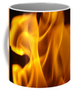 Fire Desires Art Fiery Hot New York Autumn Warmth Baslee Troutman Coffee Mug