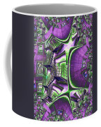 Fire Escape Fractal Coffee Mug