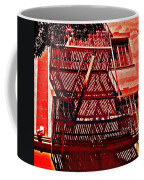 Fire Escape Coffee Mug