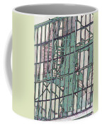 Fire Escape Reflection Coffee Mug