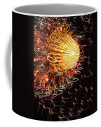 Fire Flower Coffee Mug by Karen Wiles