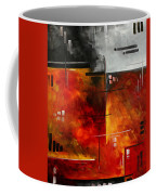 Fire Hazard Original Madart Painting Coffee Mug
