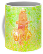 Fire Hydrant Watercolor Coffee Mug