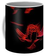 Fire In Abstract Coffee Mug
