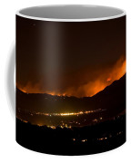 Fire In The Mountains No Lightning In The Air  Coffee Mug by James BO  Insogna