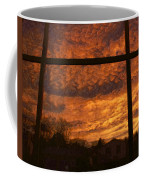 Fire In The Sky 2 Coffee Mug