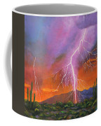 Fire In The Sky Coffee Mug
