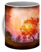 Fire In The Trees Coffee Mug