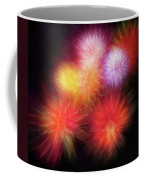 Fire Mums Floral - Fireworks Collage Coffee Mug