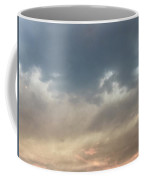 Fire Sky Sunset With Moon Coffee Mug
