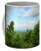 Fire Tower View - Pipestem State Park Coffee Mug