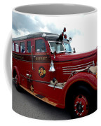 Fire Truck Selfridge Michigan Coffee Mug