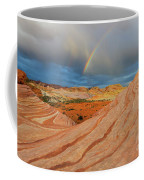 Fire Wave Rainbow Dawn Coffee Mug