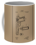 Firearm Handgun Coffee Mug