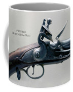 Firearms 1746 British Flintlock Horse Pistol Coffee Mug