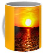 Fireball Falling Coffee Mug