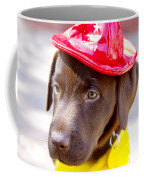 Firefighter Pup Coffee Mug