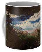 Fireflies At Dusk Coffee Mug
