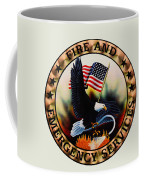 Fireman - Fire And Emergency Services Seal Coffee Mug