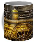 Fireman - Piano Engine - 1855  Coffee Mug by Mike Savad