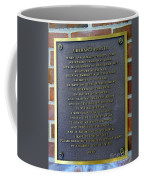 Fireman's Prayer Coffee Mug