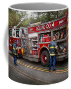 Firemen - The Modern Fire Truck Coffee Mug