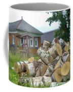 Firewood In The Village Coffee Mug