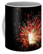 Firework Christmas Sparkle Coffee Mug