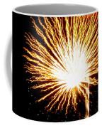 Firework Yellow Burst Coffee Mug