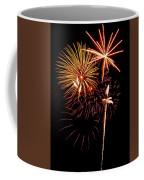 Fireworks 1 Coffee Mug by Michael Peychich