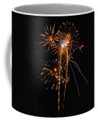 Fireworks 2 Coffee Mug by Michael Peychich