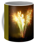 Fireworks 2 Coffee Mug by Oliver Johnston