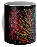 Fireworks In Bled Coffee Mug