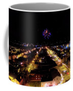 Fireworks Over Hudson Coffee Mug