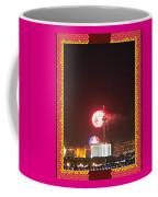 Fireworks Over The Las Vegas Strip Coffee Mug