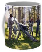 Firing The Cannon Coffee Mug