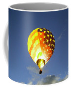 Firing Up The Red White And Blue Coffee Mug