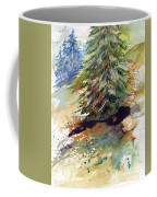 Firs On The Hill Coffee Mug
