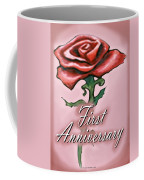 First Anniversary Coffee Mug