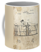 First Exercise Machine Patent Coffee Mug