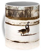 First Geese Of The Season Coffee Mug