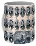 First Hundred Years Of American Presidents Coffee Mug