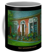 First Impressions Salon In Woodstock Vermont Coffee Mug