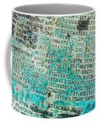 First Infantry Division Memorial Plaque Coffee Mug